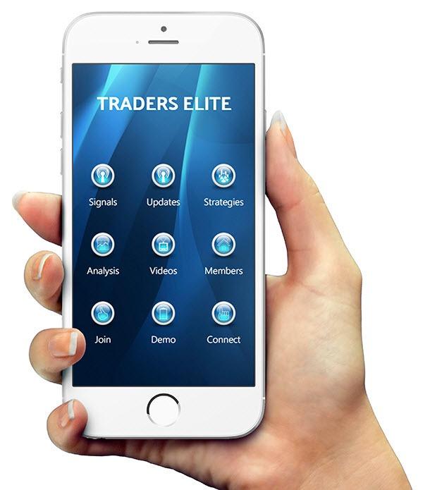 Mobilní aplikace Traders Elite