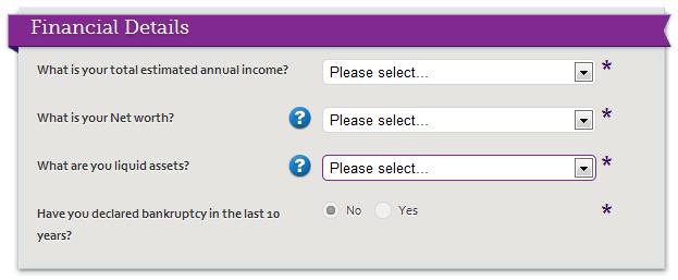 Finanční detaily forex založení účtu