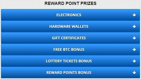 Přehled odměn, které můžete získat u Freebitco.in
