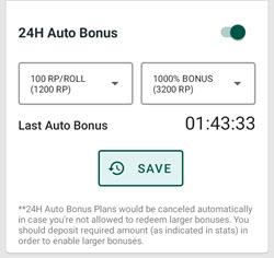 FreeBitco.in AOS - RP nastavení 24h bonus
